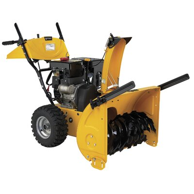 "Steele Products Two Stage 26"" Gas Snow Thrower"