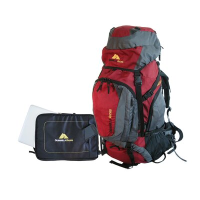 Guerrilla Packs Asalto 2.0 Internal Frame Hiking Travel Backpack with Detachable Laptop Sleeve