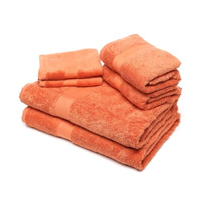 <strong>Calcot Ltd.</strong> 100% Supima Cotton 6-Piece Towel Set