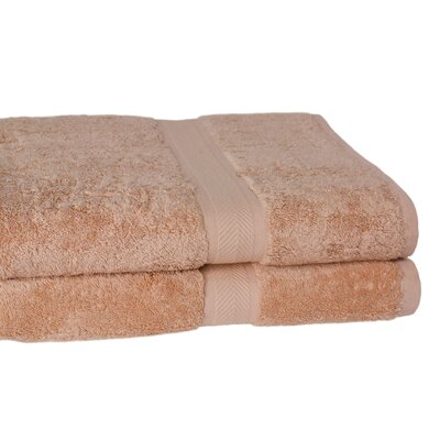 100% Supima Cotton 2-Piece Oversized Bath Sheet/Towel Set