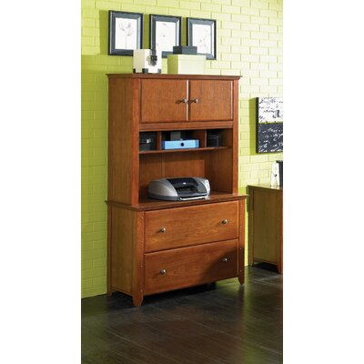 OS Home & Office Furniture Hudson Valley Lateral File with Hutch