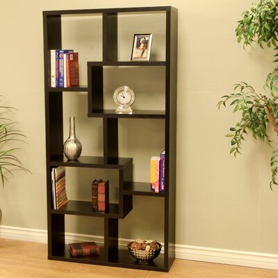 "Mega Home Contemporary 70.86"" Cube Bookcase"
