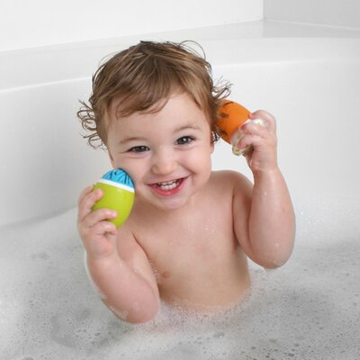 Boon Scrubble Bath Toy And Scrub Set in Multicolor