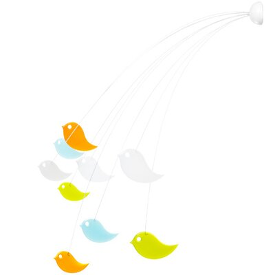 Boon Peep Bird Mobile in Multicolor
