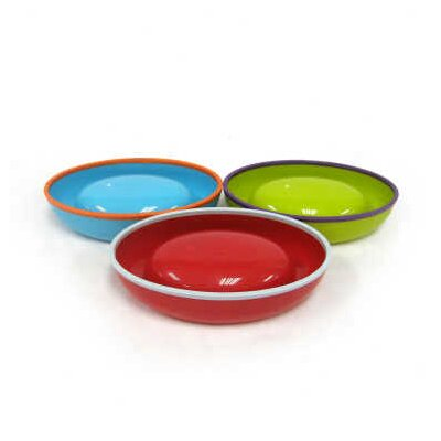 Boon 3 Pack Asst Dish Stayput Toddler Bowls in Blue Raspberry / Grape / Cherry
