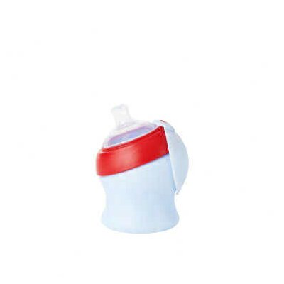 Boon Swig Ergo Sippy Cup Spout Short in Cherry / Berry Cream