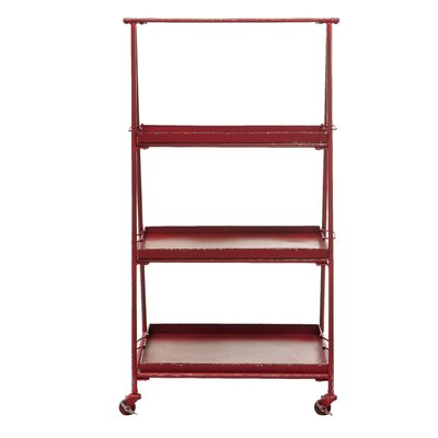 Creative Co-Op Metal 3-Tier Shelf