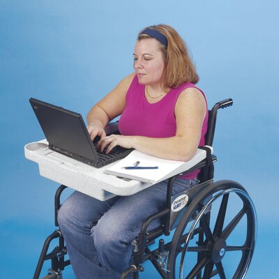 Ableware Laptop Wheelchair Desk