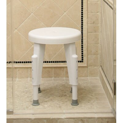 Ableware Non-Rotating Adjustable Shower Stool