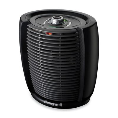 "Honeywell Cool Touch Heater, 7-7/32""x11-11/16""x10-23/64"", Black"