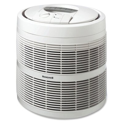"Honeywell Enviracaire HEPA Air Purifiers, 3-Speeds, 475 Sq Ft. Cap., 18""x18""x19-9/16"", White"