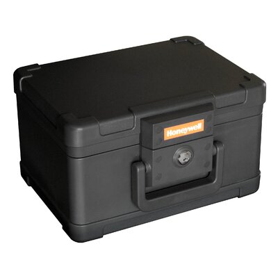 Honeywell 1/2 Hr Fireproof Key Lock Resistant Chest