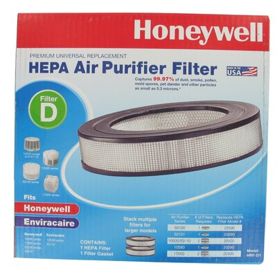 Honeywell Premium Universal Replacement HEPA Air Purifier Filter
