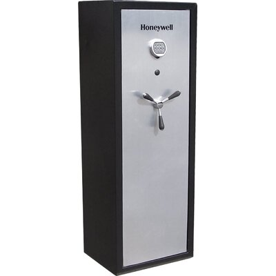 Executive/ Long Gun Safe in Brushed Aluminum