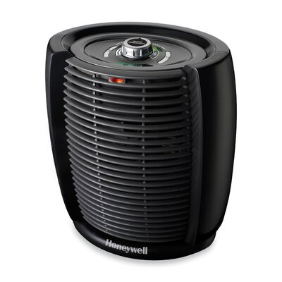 "Honeywell Energysmart Cool Touch Heater, 7-7/32""x11-11/16""x10-23/64"", Black"