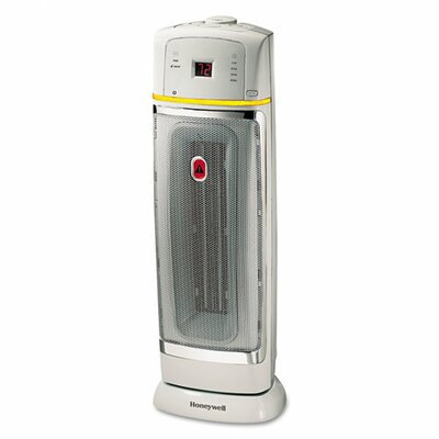 1,500 Watt Ceramic Tower Space Heater with Oscillating