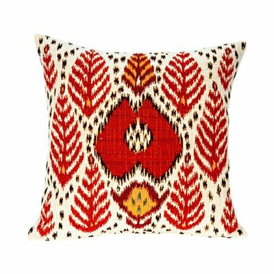 Jules Pansu Bali Ikat Tapestry Cotton Twill Pillow