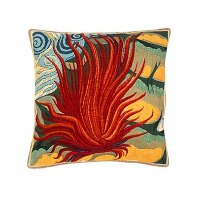 Jules Pansu Le Feu Tapestry Cotton Twill Pillow