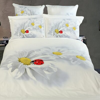 Dolce Mela Curiosita 6 Pieces Full/Queen Duvet Cover Set
