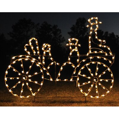 Animated Victorian Carriage Light
