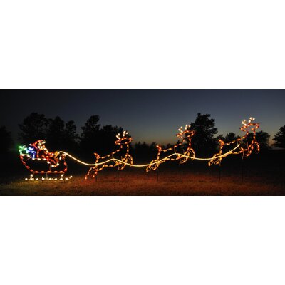 Small Reindeer Light Set