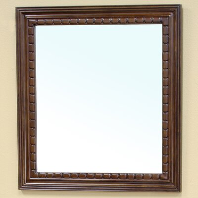 Bellaterra Home Wheeler Solid Wood-Framed Mirror