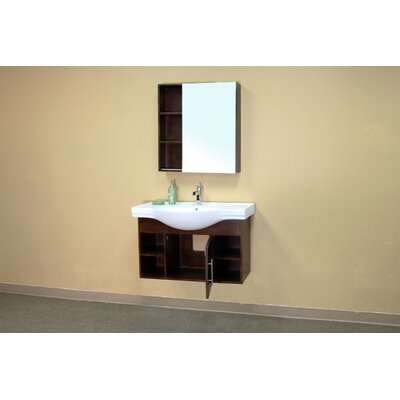 Bellaterra Home Langdon Bathroom Mirror Medicine Cabinet