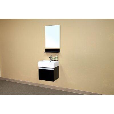Bellaterra Home Mason Bathroom Mirror