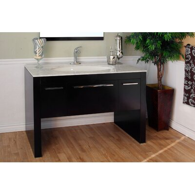 "Bellaterra Home Coleman 55.3"" Single Vanity Set"
