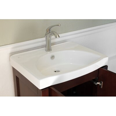 "Bellaterra Home Berman 24"" Single Vanity Set"