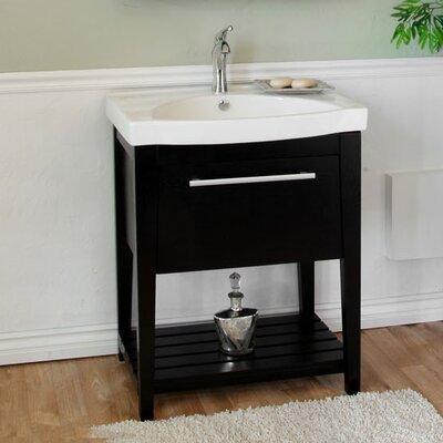 "Bellaterra Home Farnsworth 27.5"" Single Vanity Set"