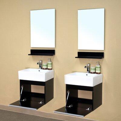 "Bellaterra Home Mason 41"" Double Vanity Set"
