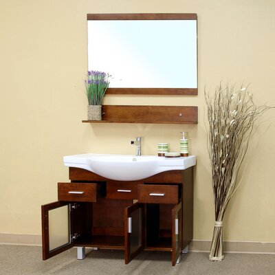 "Bellaterra Home Crenshaw 40"" Single Bathroom Vanity Set"