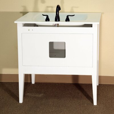 "Bellaterra Home Fairbanks 33.5"" Single Vanity Set"