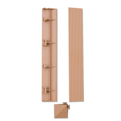 "Kontiki 2"" x 1"" Teak Corner Trims (Set of 4)"