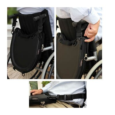Windsor Direct Trabasack Curve Connect Wheelchair Velcro Covered Lap Tray and Storage Bag
