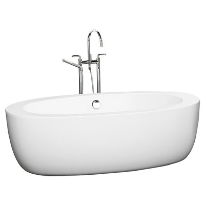 "Wyndham Collection Verona UVA 69"" x 33"" Bathtub"