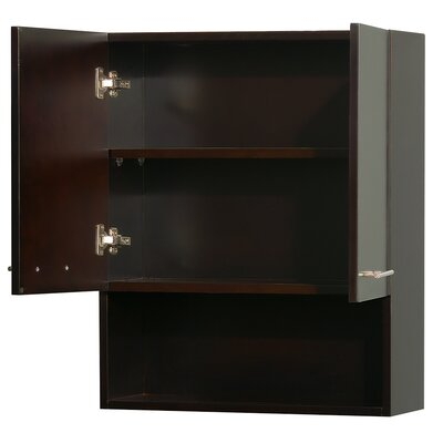 "Wyndham Collection Centra 8.75"" x 29"" Wall Mounted Cabinet"