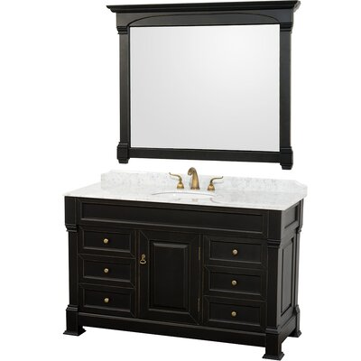"Wyndham Collection Andover 55"" Bathroom Vanity Set"