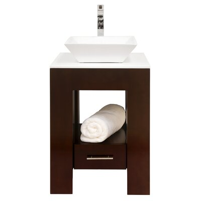 Wyndham Collection Amanda Bathroom Vanity Set