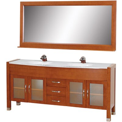 Wyndham Collection Daytona Double Bathroom Vanity Set