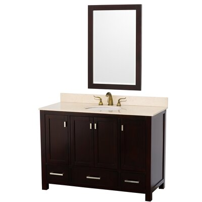 "Wyndham Collection Abingdon 49"" Single Bathroom Vanity Set"