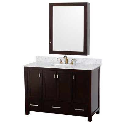 "Wyndham Collection Abingdon 48"" Single Bathroom Vanity Set"