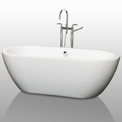 "Wyndham Collection Soho 68"" x 31"" Bathtub"