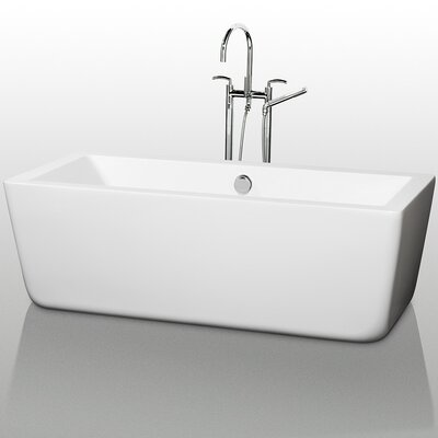"Wyndham Collection Laura 67"" x 30"" Bathtub"