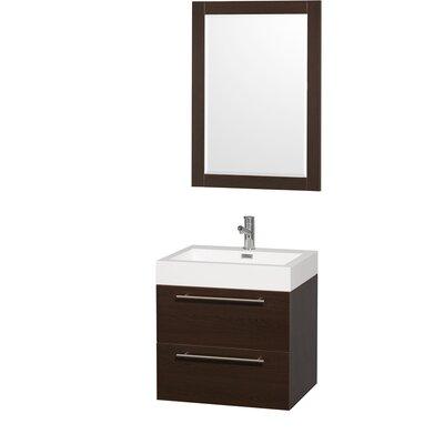 "Wyndham Collection Amare 24"" Single Bathroom Vanity Set"