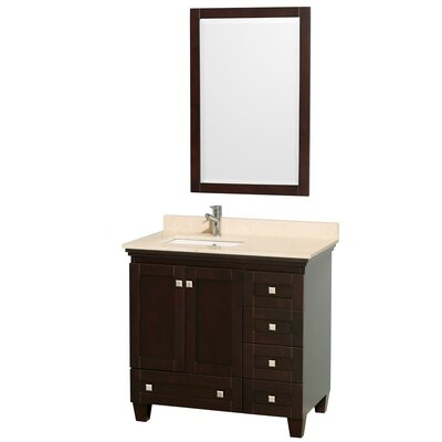 Wyndham Collection Acclaim Single Bathroom Vanity Set