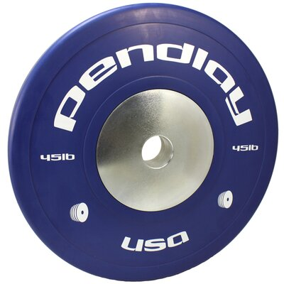 45 lb Elite Color Bumper Plates (Set of 2)