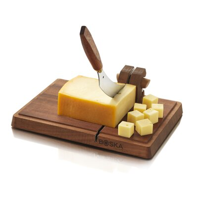 Boska Holland Dutch Cheese Board Mahogany