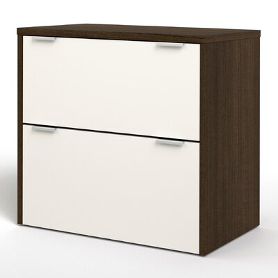 Bestar Contempo 2-Drawer  Filing Cabinet